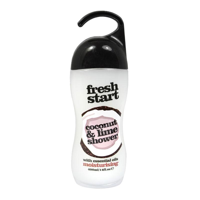 Xpel Fresh Start Coconut & Lime Shower Gel With Essential Oils Moisturising 400 ml (63318)