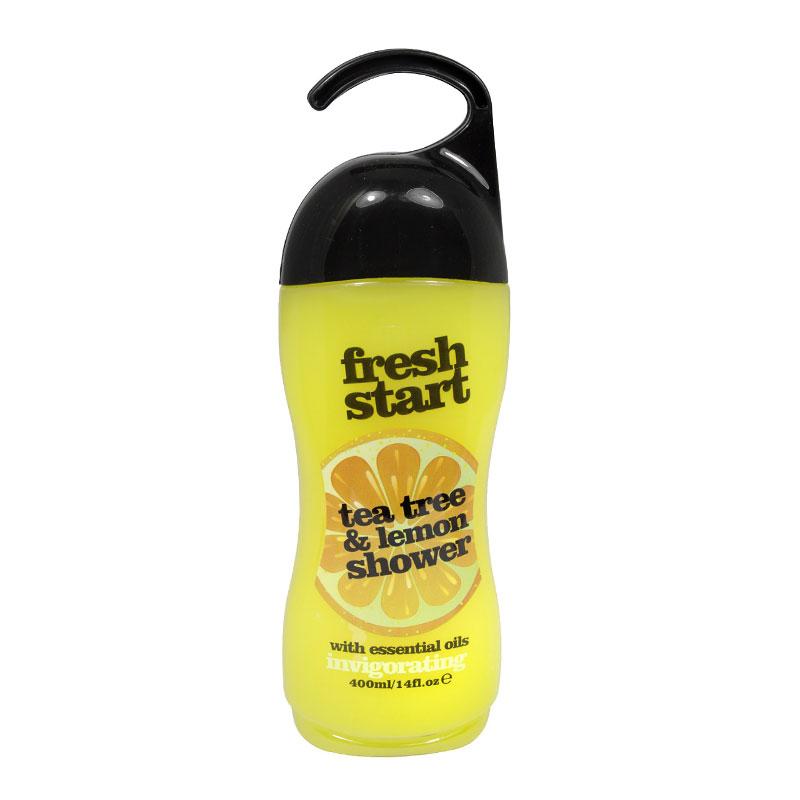 Xpel Fresh Start Tea Tree & Lemon Shower Gel With Essential Oils Invigorating 400 ml (63301)