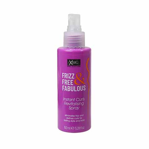 Xpel Frizz Free & Fabulous Instant Curls Revitalising Hair Spray 150ml