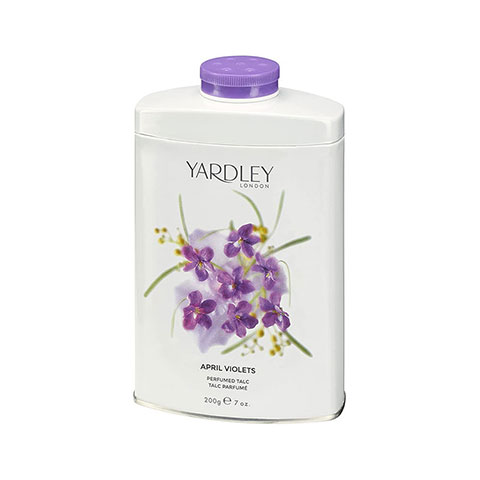 Yardley London April Violets Perfumed Talc Powder 200g