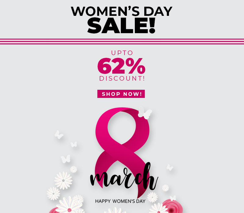 Women's Day SALE!
